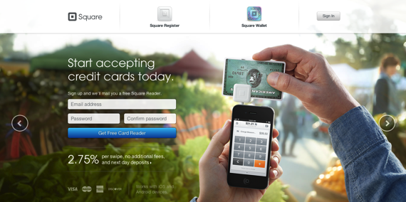 Accept credit cards with your iPhone Android or iPad  Square