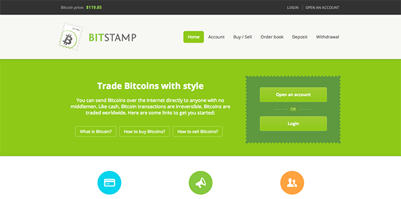 $119 85 Bitstamp buy and sell bitcoins
