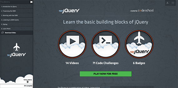 Code-School---Try-jQuery