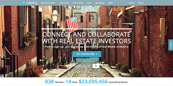 Collaperty Crowdfunding Real Estate Network