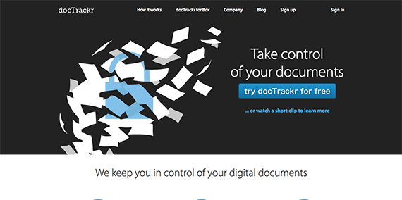 Document Control and Analytics Document Security docTrackr