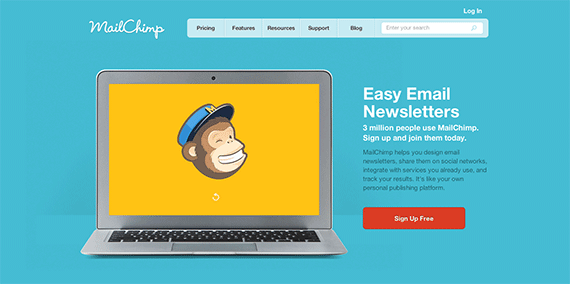 Email Marketing and Email List Manager MailChimp