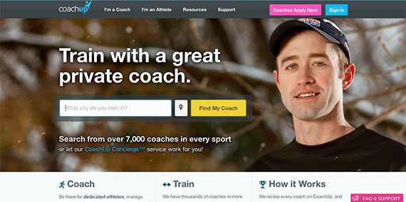Find a Great Private Coach in Any Sport CoachUp com