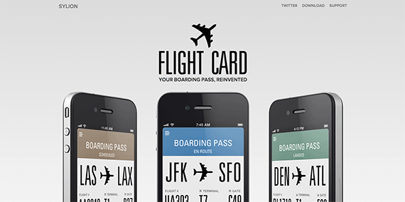 Flight Card Your boarding pass reinvented Flight Tracking application for your iPhone and iPod touch