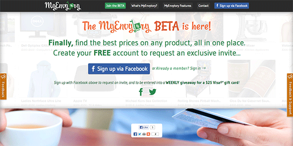 MyEnvytory The BETA is here