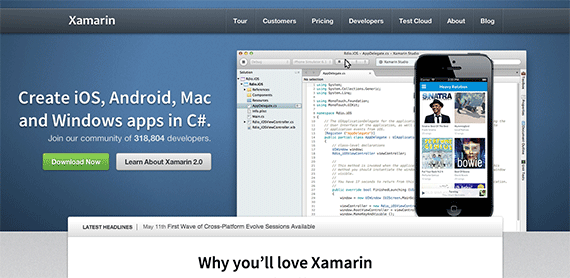 Xamarin Build cross platform iOS Android Mac and Windows apps with C and NET