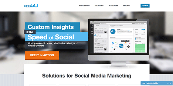 UberVU Social Media Marketing Automation