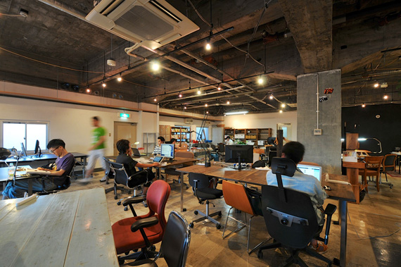 Coworking space at shibuya ebisu 1