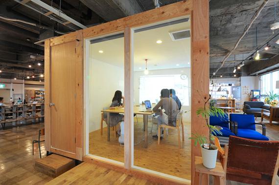 Coworking space at shibuya ebisu 2