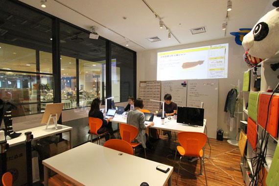 Coworking space at shibuya ebisu10