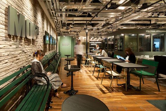 Coworking space at shibuya ebisu1