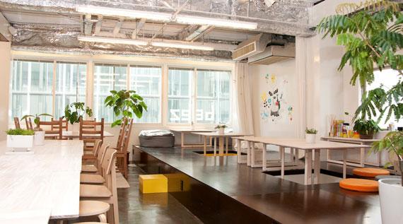Coworking space at shibuya ebisu12