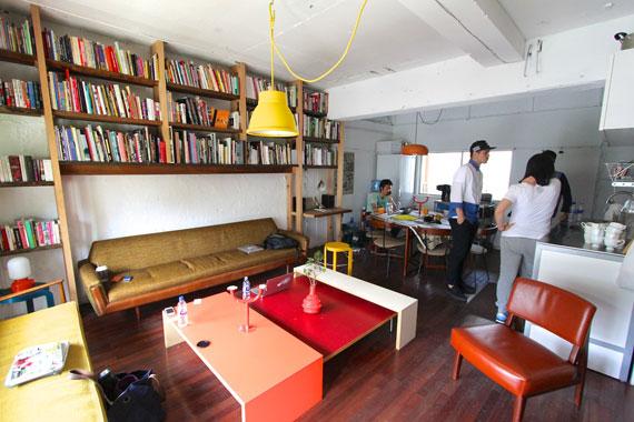 Coworking space at shibuya ebisu14