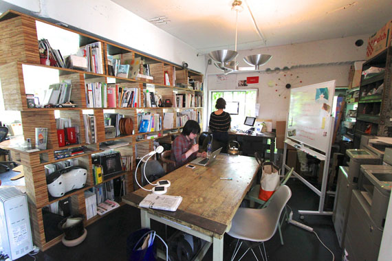 Coworking space at shibuya ebisu18
