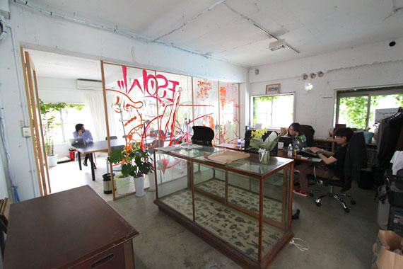 Coworking space at shibuya ebisu21