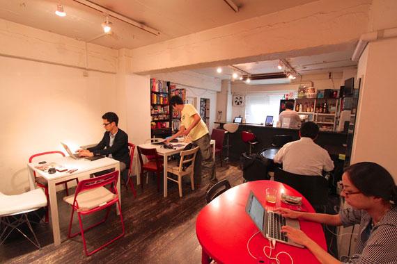 Coworking space at shibuya ebisu24