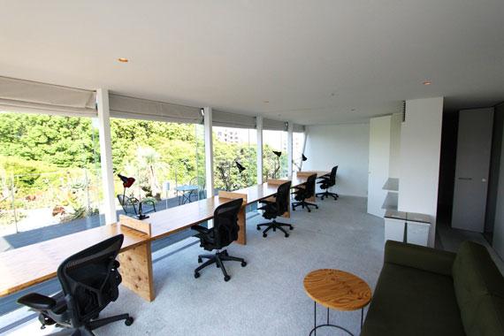 Coworking space at shibuya ebisu28