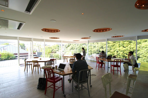 Coworking space at shibuya ebisu30