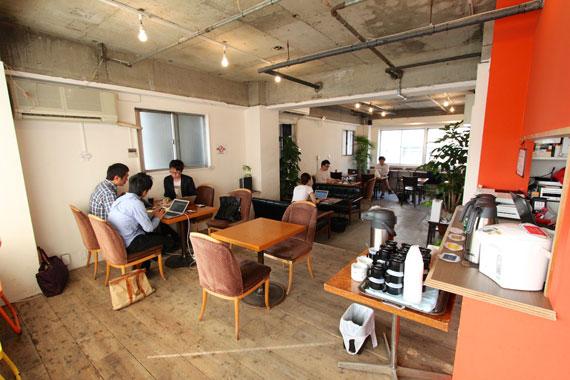 Coworking space at shibuya ebisu33
