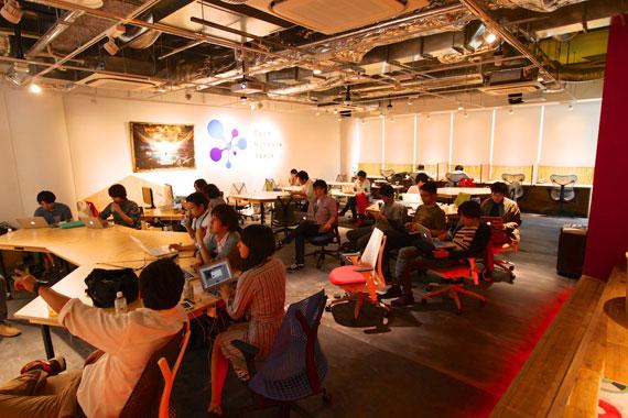Coworking space at shibuya ebisu35