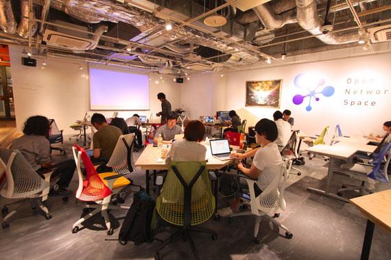 Coworking space at shibuya ebisu37