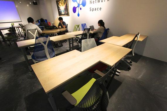 Coworking space at shibuya ebisu38