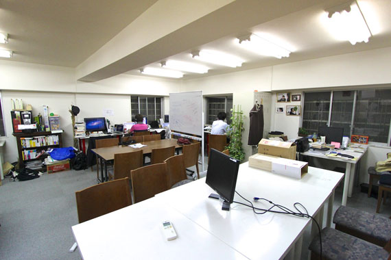 Coworking space at shibuya ebisu40