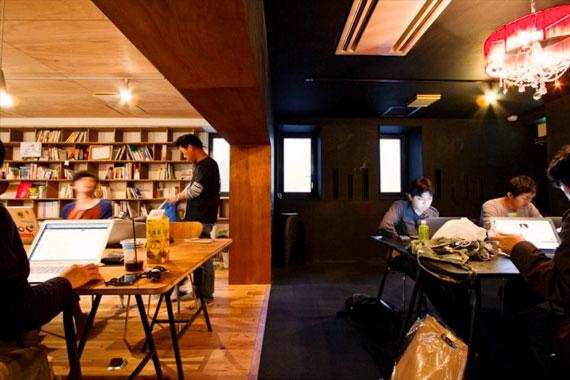 Coworking space at shibuya ebisu47