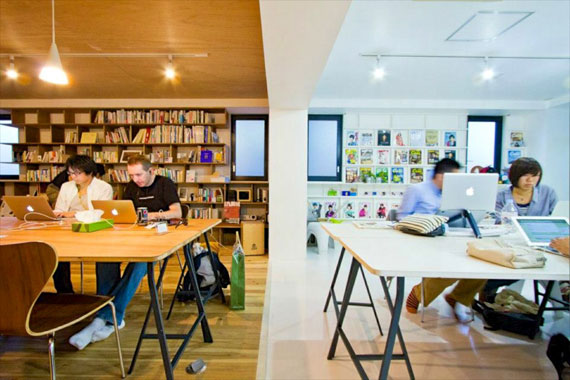Coworking space at shibuya ebisu48