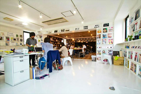 Coworking space at shibuya ebisu51