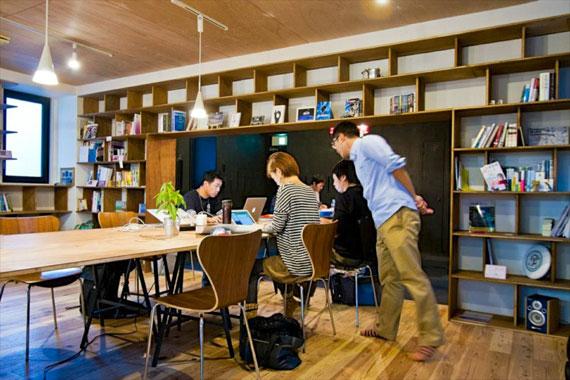 Coworking space at shibuya ebisu52