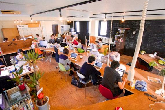 Coworking space at shibuya ebisu54