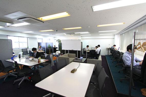 Coworking space at shibuya ebisu55