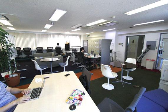 Coworking space at shibuya ebisu56