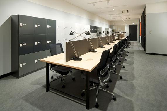 Coworking space at shibuya ebisu7