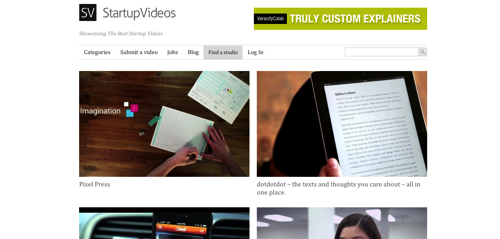 Startup Videos  Showcasing The Best Startup Videos