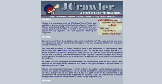 JCrawler A perfect load testing tool
