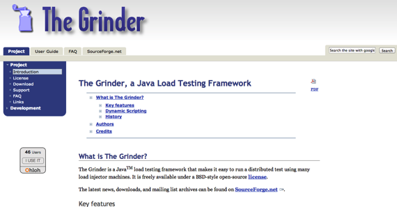 The Grinder a Java Load Testing Framework